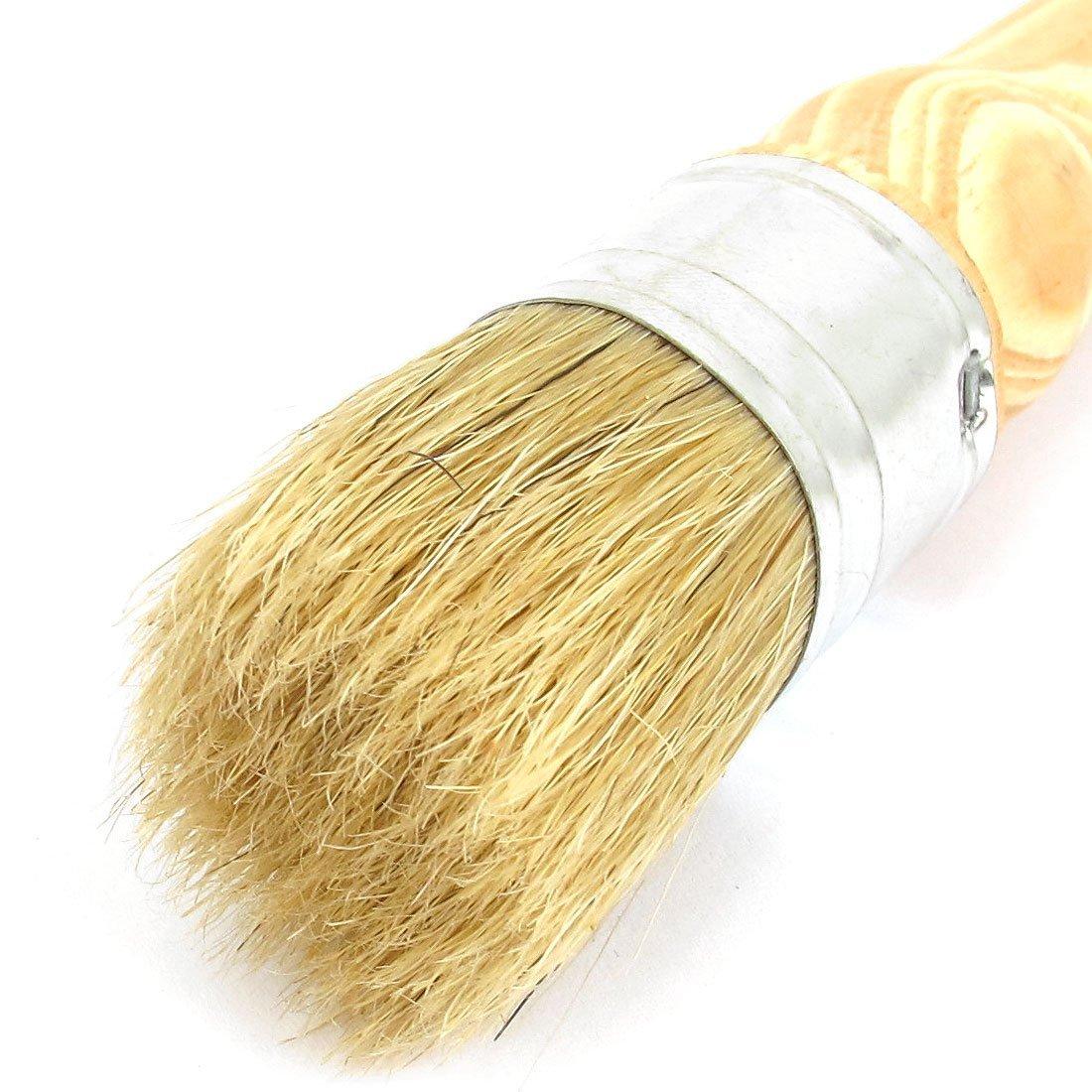 DealMux 30mm Dia Round Bristle Chalk Oil Paint Painting Wax Brush