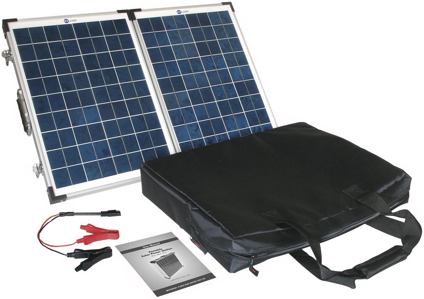 Solar Technology Solarmodul-Set, 40W, Blau, 40WP