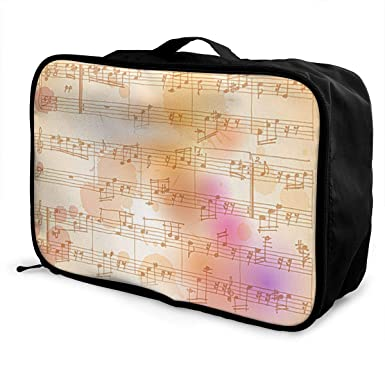 Amazon com: Musical Symbols Travel Lightweight Large Capacity