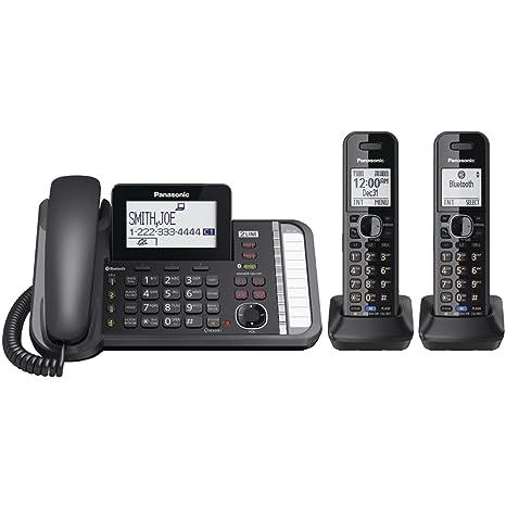 Amazon.com: Teléfono inalámbrico digital KX ...