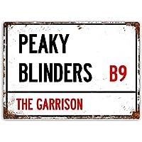 BigBazza Placa de Pared Vintage de Peaky Blinders