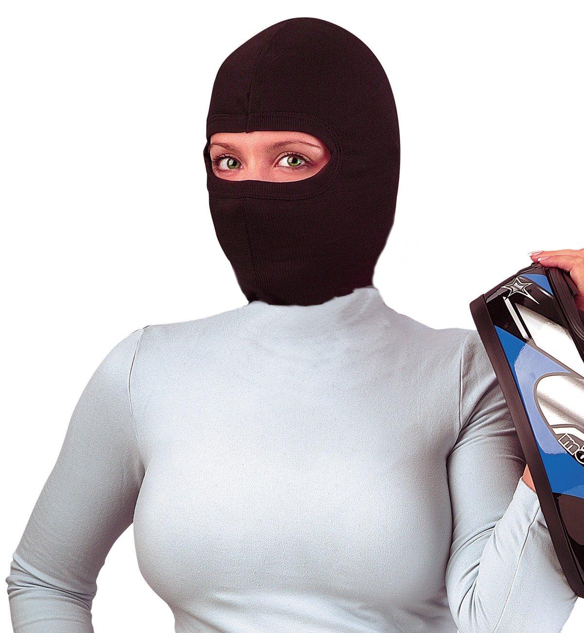 Raider, 1810B-XT, Balaclava Full Face Mask Black PREMIUM - Poly/Cotton Blend - Pack of 50