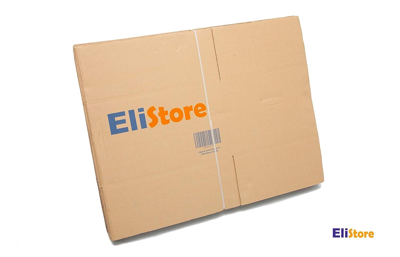 Cajas de Cartón Pack De 10 - Tamaño 450 x 350 x 270 mm - Canal Simple Reforzado De Alta Calidad Resistente - Cajas de Mudanza - Almacenaje - Embalage ...