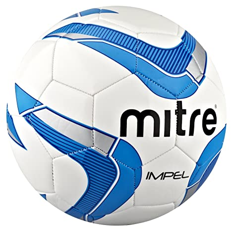 Mitre Impel balón de fútbol - blanco de la Armada británica ...
