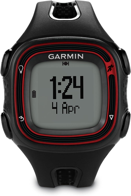 Garmin Forerunner 10 GPS Watch (Black/Red)