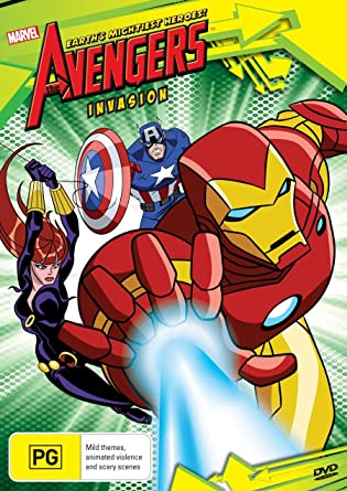Amazon.com: The Avengers Earths Mightiest Heroes! Invasion ...