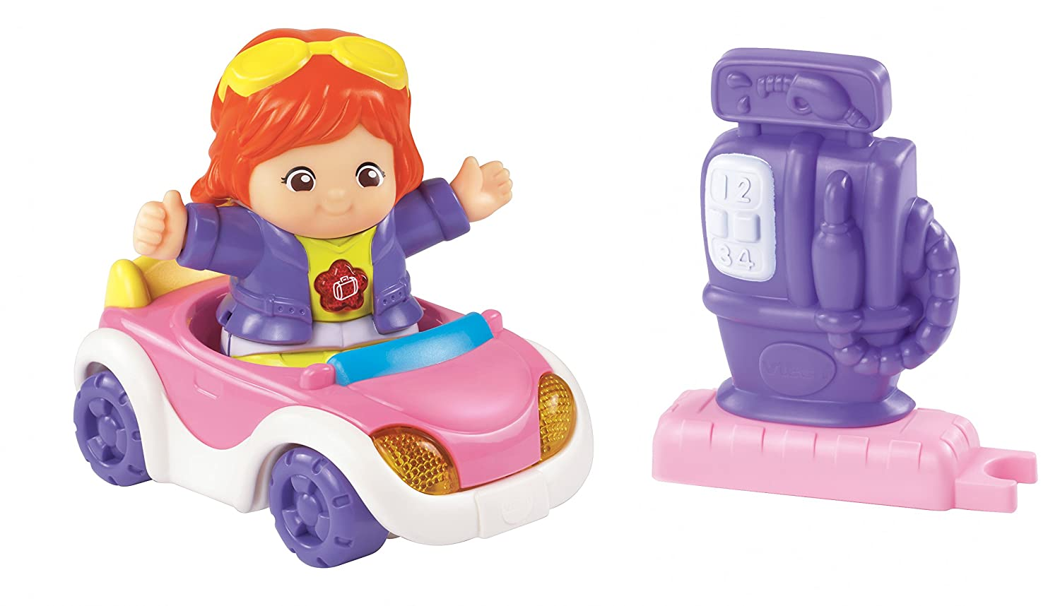 VTech Go Go Smart Friends Kaylee's Cruise and Go Convertible