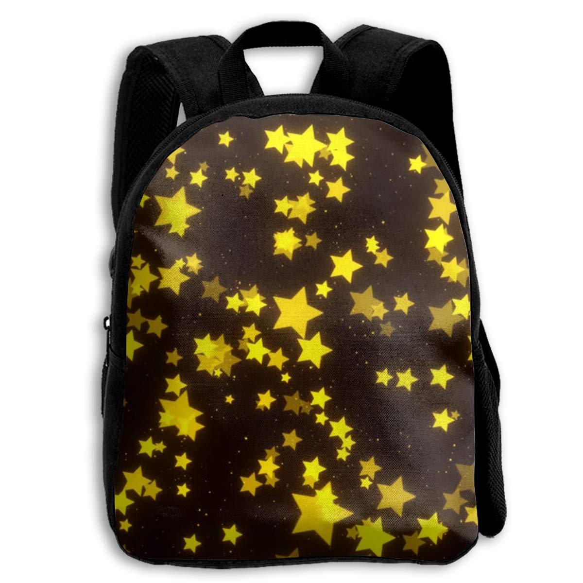 ボーイズブックバッグ 光る星 スクールバックパック 丈夫なスクールバッグ キャンピングストレージバッグ 旅行ショルダーバッグ 折りたたみ式バックパック B07L8NFSYH