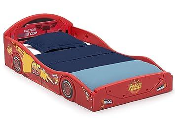 "Children Toddler Kids Bed Sleep /& Play W Guardrails Car Headboard 29.5/""x54.25/"""