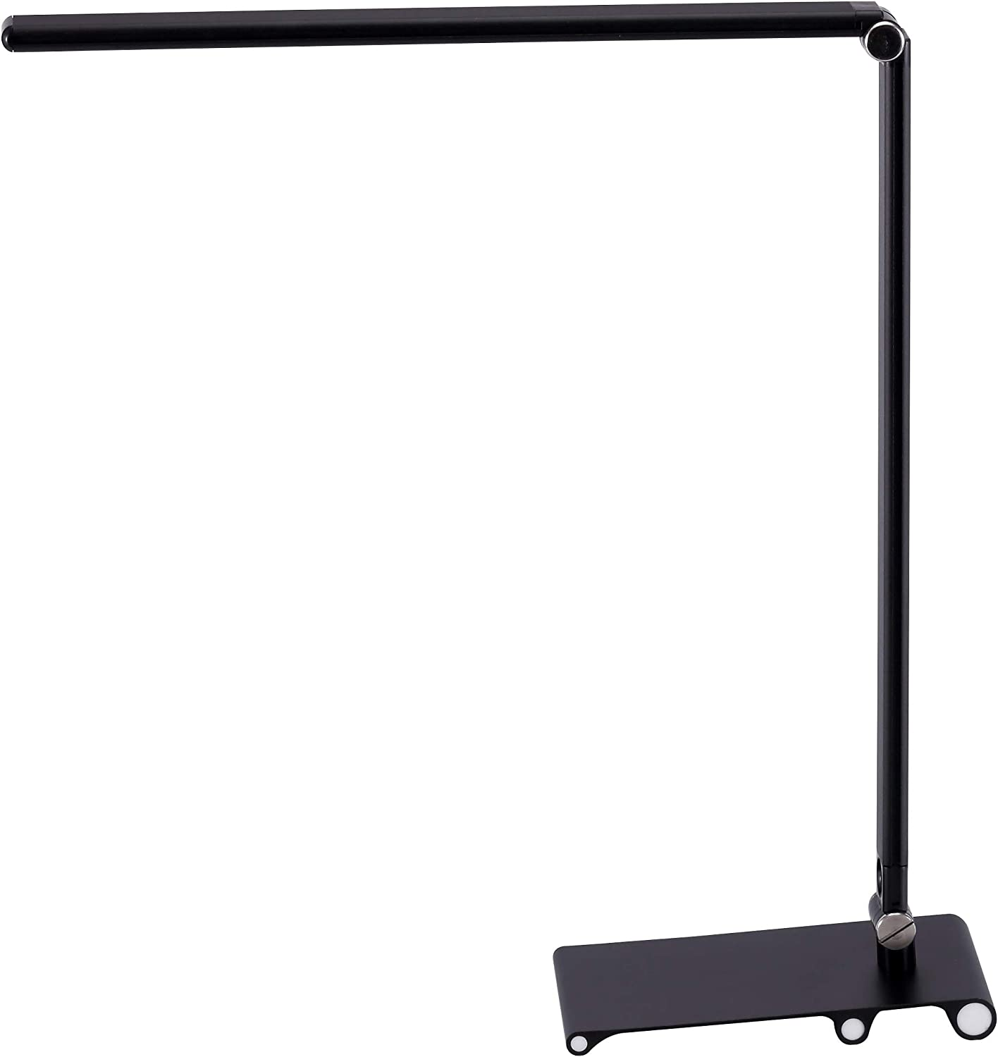 Black and Decker Office VLED1822BLK-BD Metal Dimmable LED Desk Lamp with Adjustable Color Temperature