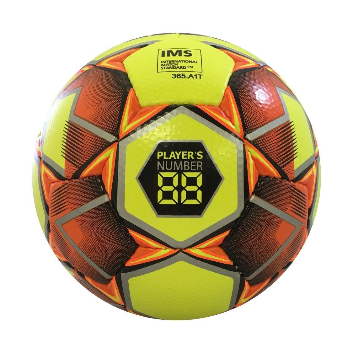 Select Numero 10 - Balón de fútbol, Color Amarillo y Naranja ...