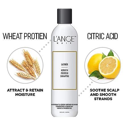 Amazon.com: L Ange de cabello espuma proteína de queratina ...