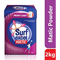 Surf Excel Matic Front Load Detergent Powder, 2 kg