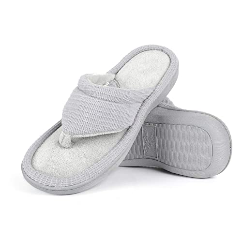 13c9eec50e67 Wishcotton Women s Memory Foam Summer Slippers