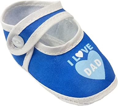 Baby Booties Infant Boy Shoes Blue