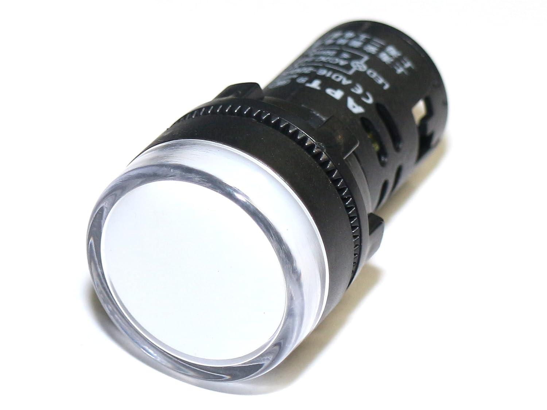 Schalttafel Leuchte Signalleuchte Signallampe LED 12V Blau 29mm Schaltschrank