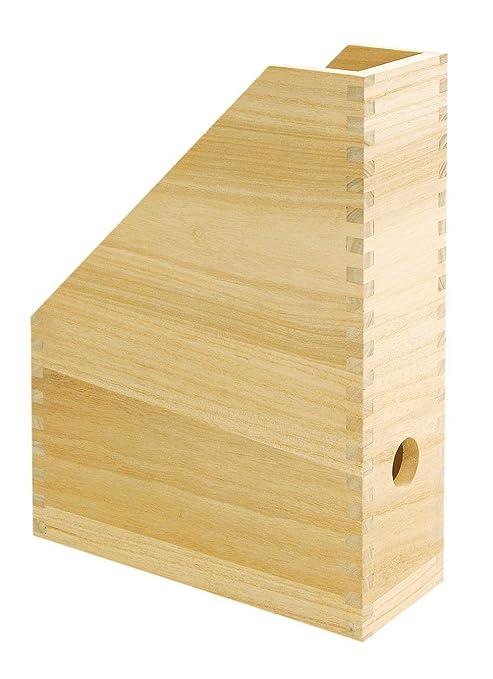 Revistero Revistero, pie carpeta, caja de madera de revistas, de VBS