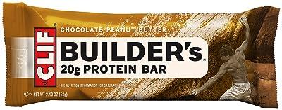 CLIF BUILDER'S - Protein Bar - Chocolate Peanut Butter
