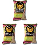 Siete Grain Free Tortilla Chips, Lime, 5 oz. (Pack of 3)