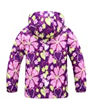 Hiheart Girls Outdoor Floral Print