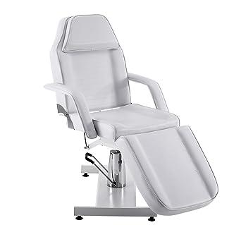 Camilla reclinable hidráulica, para barberías, terapia, camilla de masajes o para realizar tatuajes