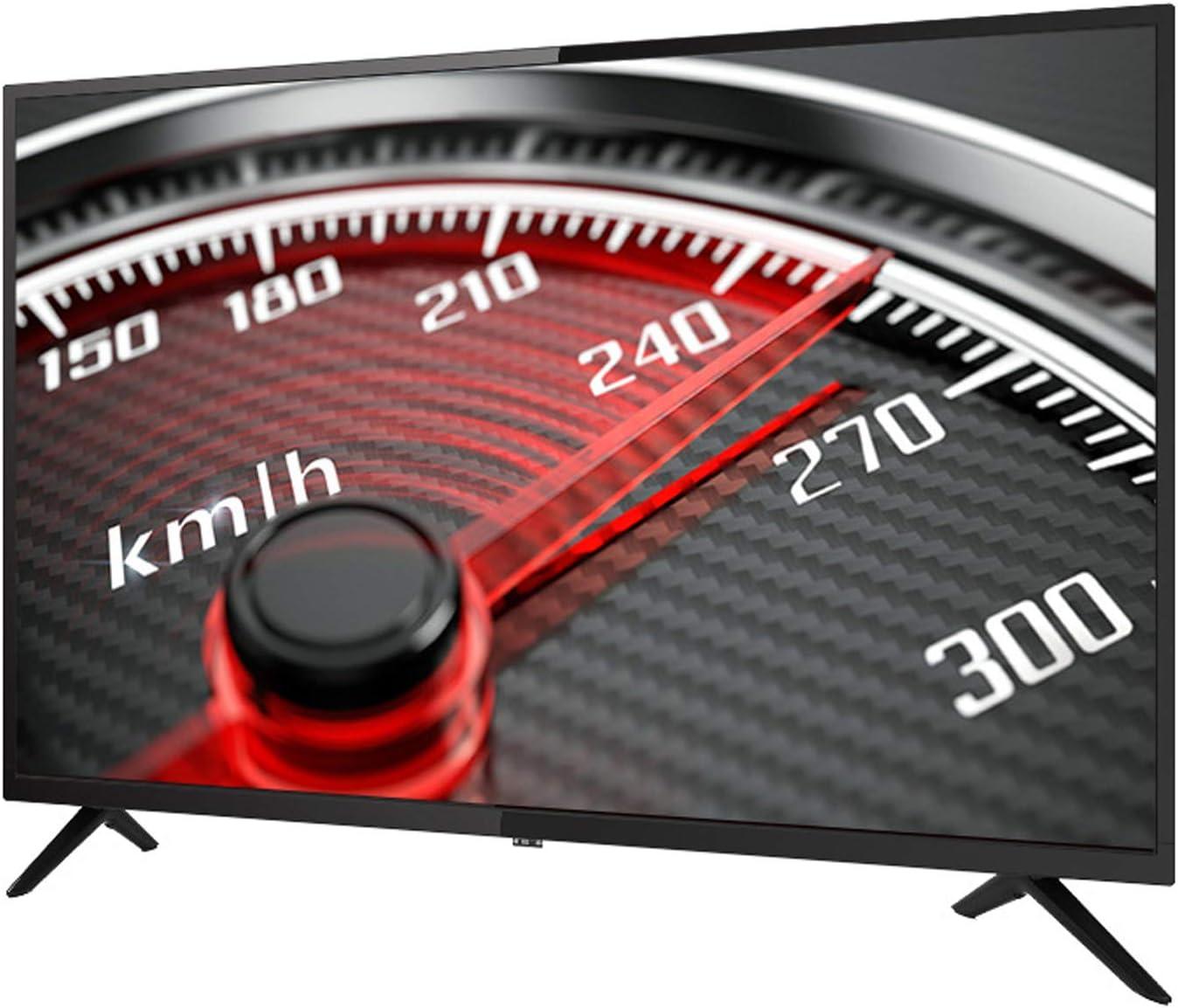 YILANJUN Televisor HD LCD de 55 o 60 Pulgadas, Recursos Masivos e Interfaces Ricas, Smart UHD TV 4K [WiFi + Sonido Envolvente + Multifunción + Configuración Alta] (Pantalla