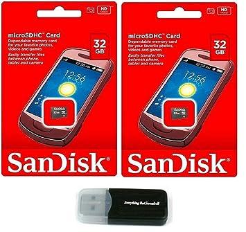 Sandisk - Tarjeta de Memoria Flash MicroSD HC 32G de 32 GB ...