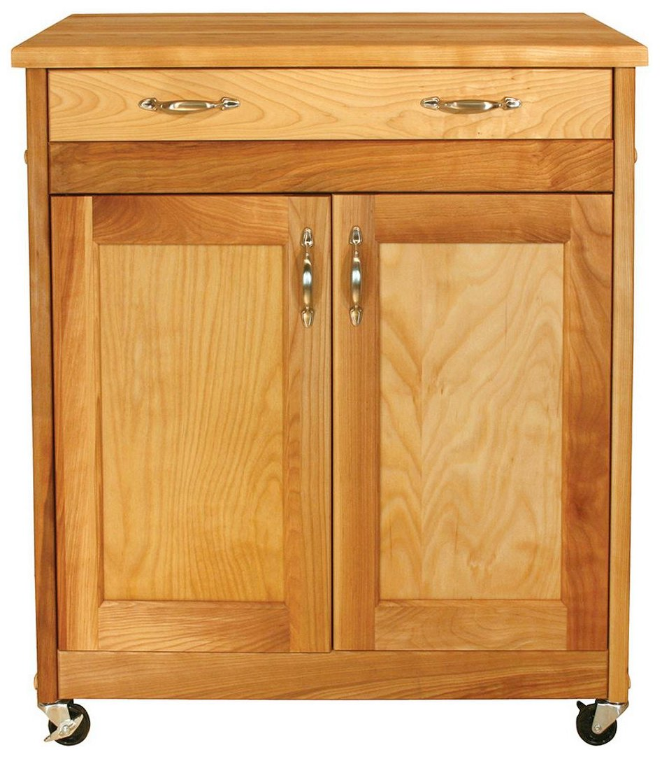 Catskill Craftsmen Designer Island with Flat Panel Doors