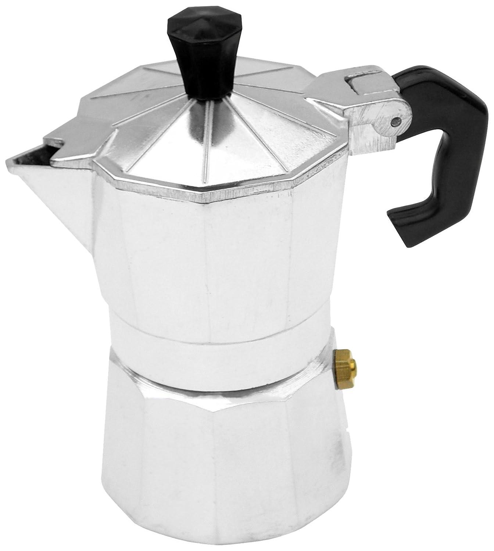 BC Classics BC-17710 1-Cup Aluminum Espresso Maker MBR INDUSTRIES
