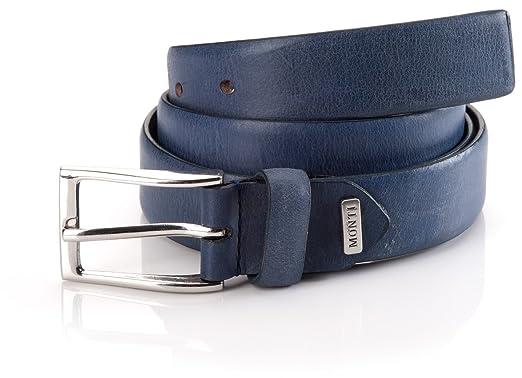 0436756cf49b Monti Men s Belt - Blue - Blau (Farbe  1000 blau blue) - 38 IN ...