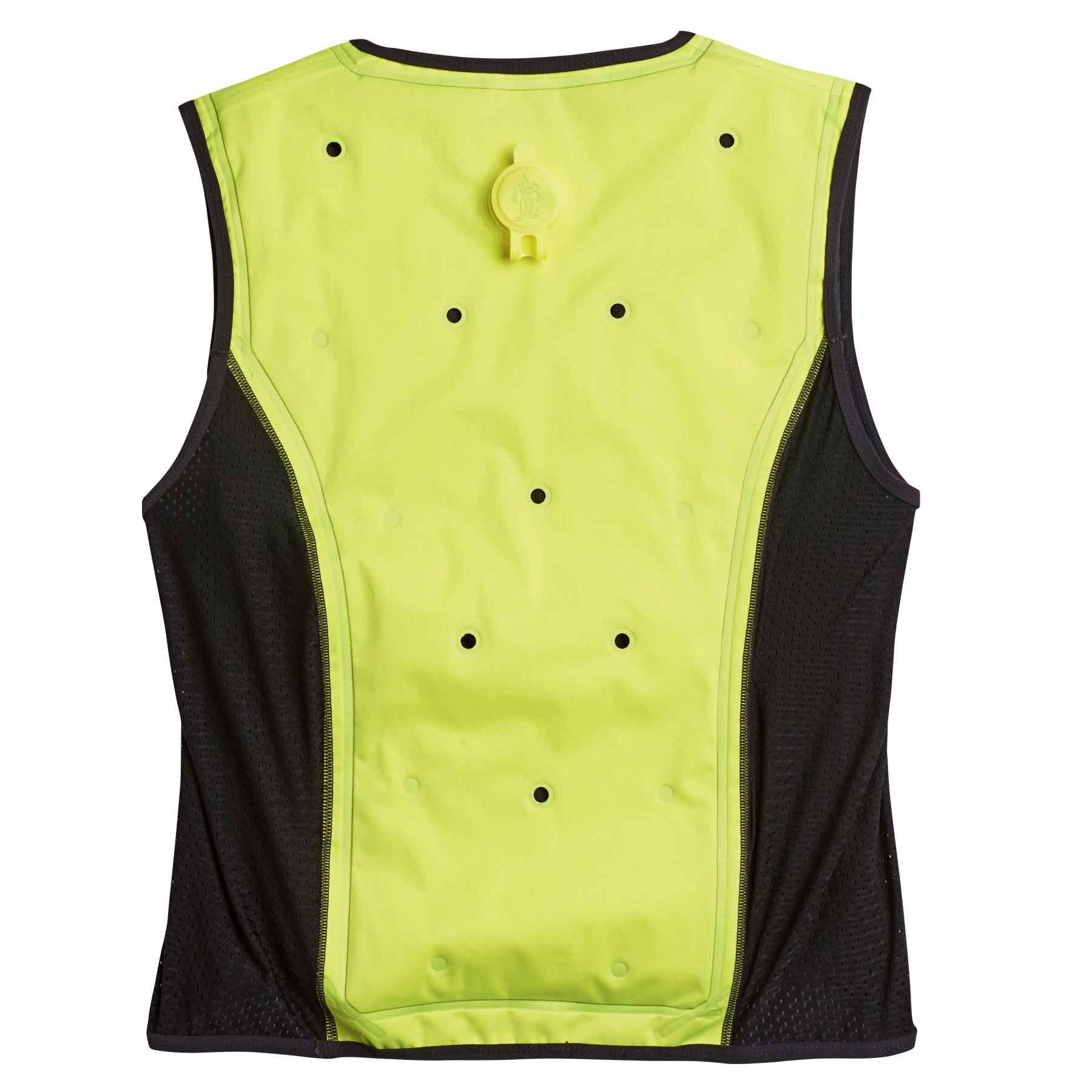 Evaporative Cooling Vest, Wearer Stays Cool and Dry, Breathable Comfort, Zipper Closure, Ergodyne Chill-Its 6685 by Ergodyne (Image #2)