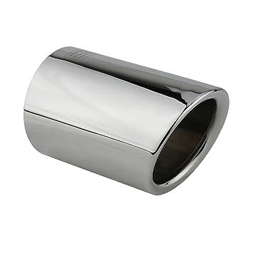 Apertura de escape acero inoxidable espejo pulido cromo, Plug&Play, opturador tubo de escape, tubo de escape, número de comparación, L&P A292 1