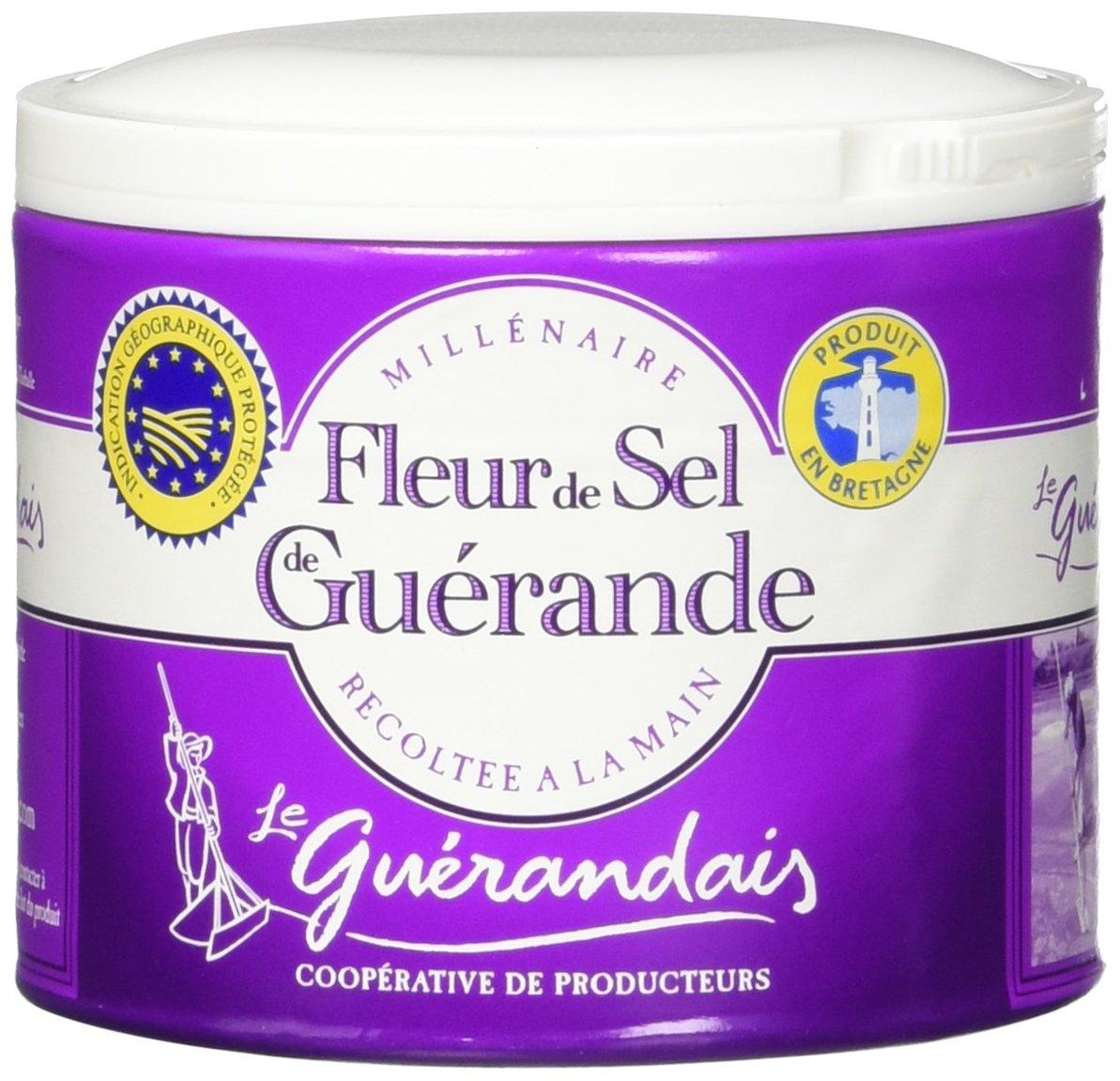 Amazon Com Millenaire Fleur De Sel De Guerande Sea Salt 2 2 Lbs 1