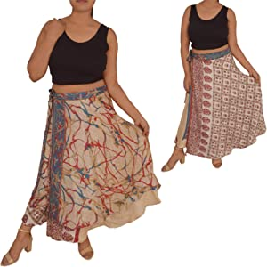 Plus Size Magic Wrap Skirts 1 Skirt 100 Ways to Wear