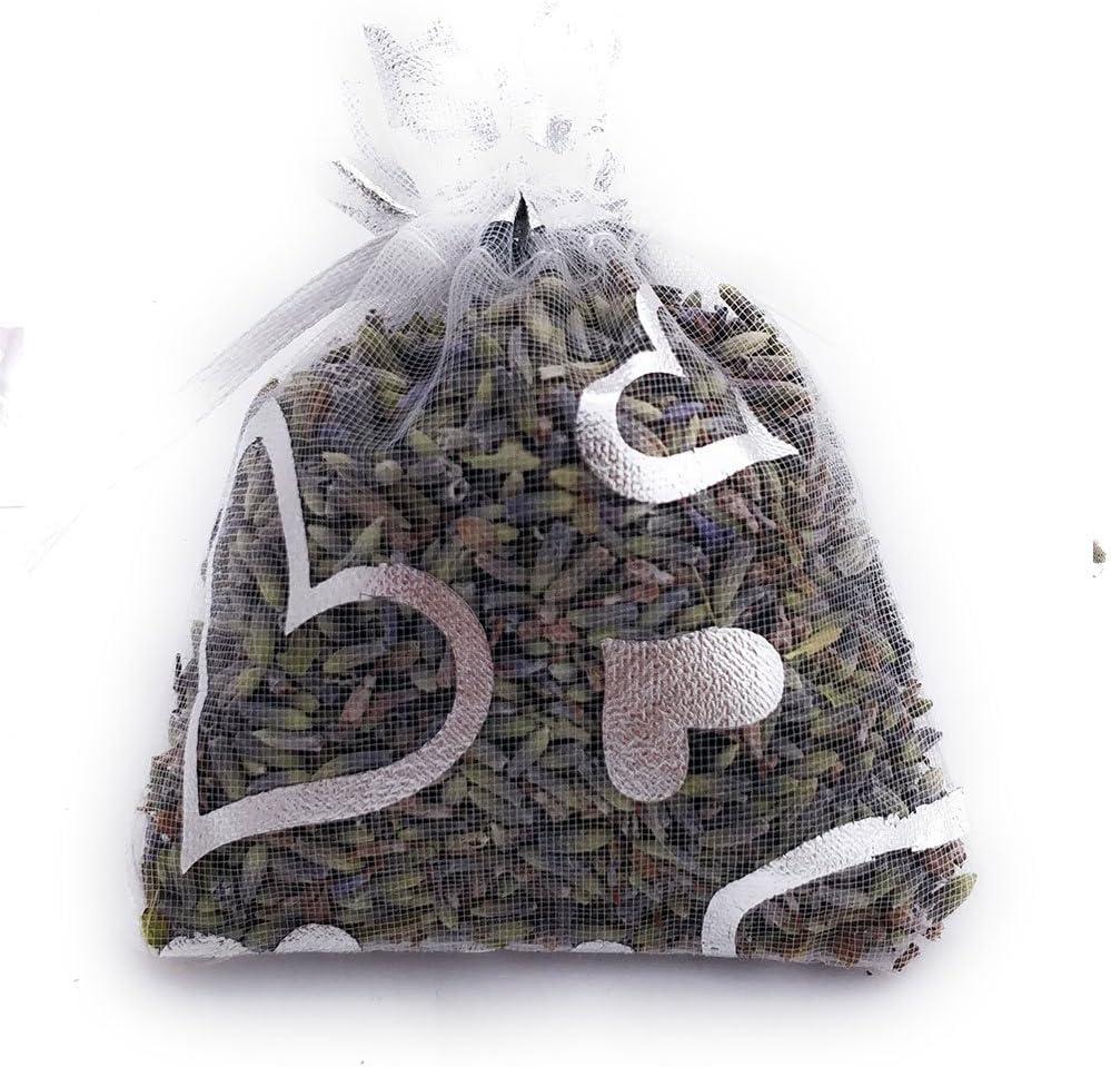 120 grammes de Lavande Naturelle OLILLY R/écolte 2020-12 Sachets Violets Fonc/és avec Lavande de Provence Mauve, 12 Sachets