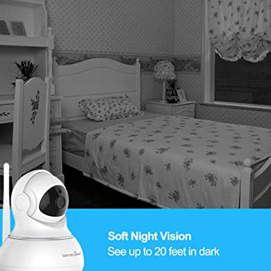 Wansview Wireless IP Camera - Night Vision