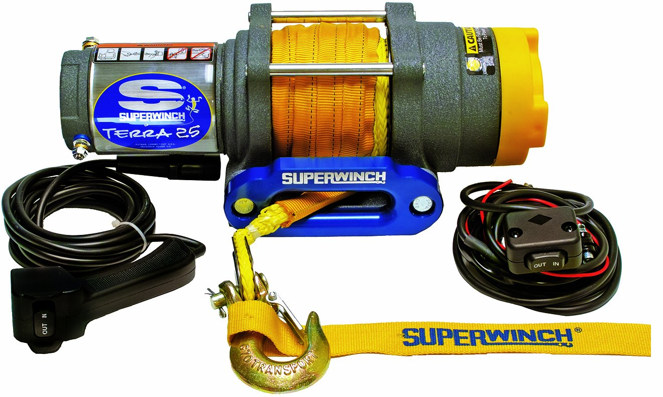 71UEMuVjAlL._SL1320_ amazon com superwinch 1125230 terra 25 2500lb 1134kg single line superwinch lt3000 wiring diagram at readyjetset.co