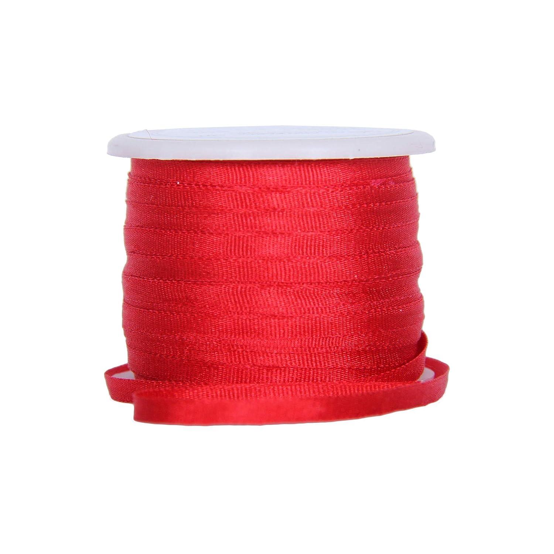 44 Yards of Ribbon Warm Colors Four Spool Collection 11yd 10m Spools 100/% Pure Silk Ribbon Threadart 4mm Silk Ribbon Set