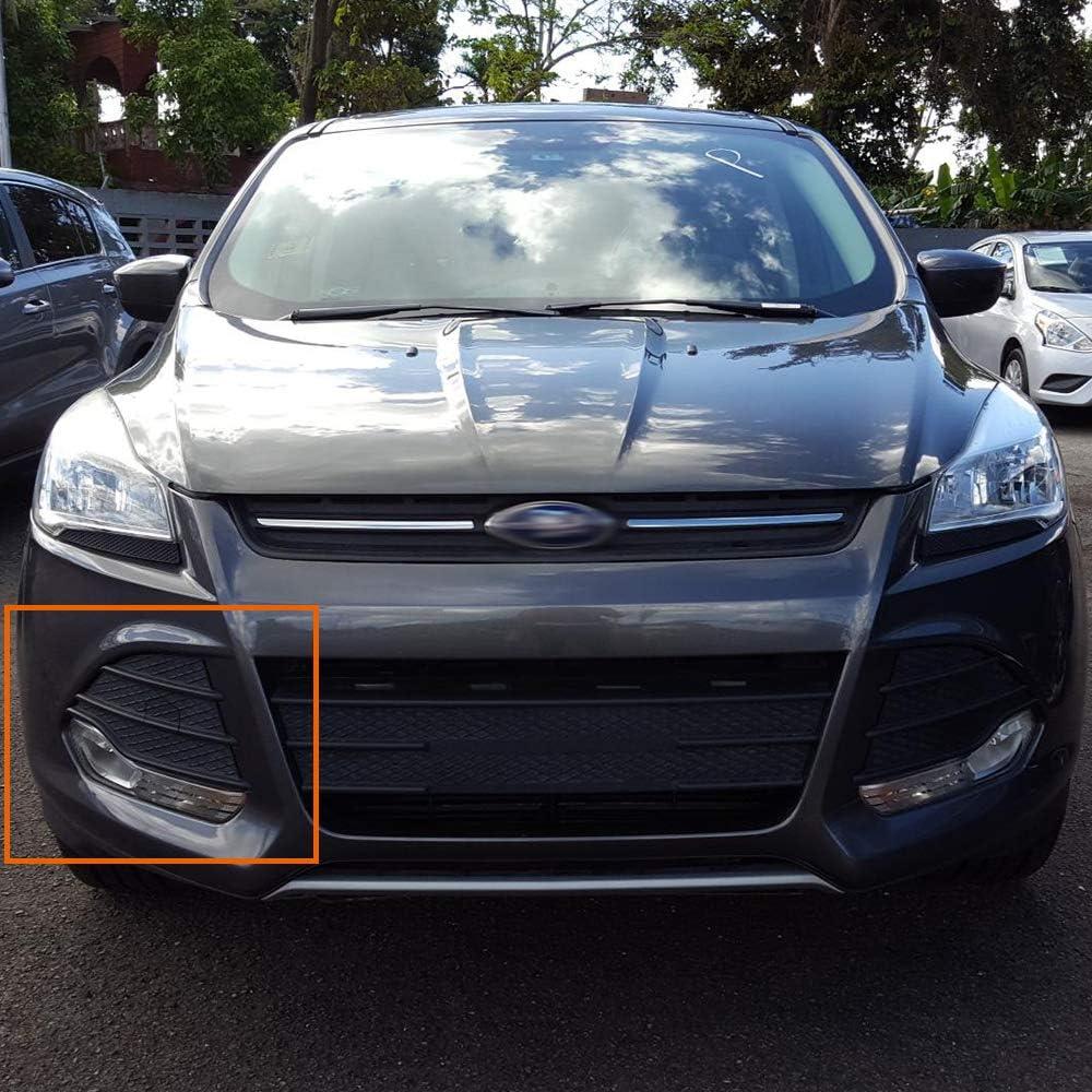 for Ford Escape S SE 2013 2014 2015 2016 Right Passenger Side Front Lower Bumper Grill Cover Grille Insert Black FO1039124 CJ5Z-17E810-AA American Version