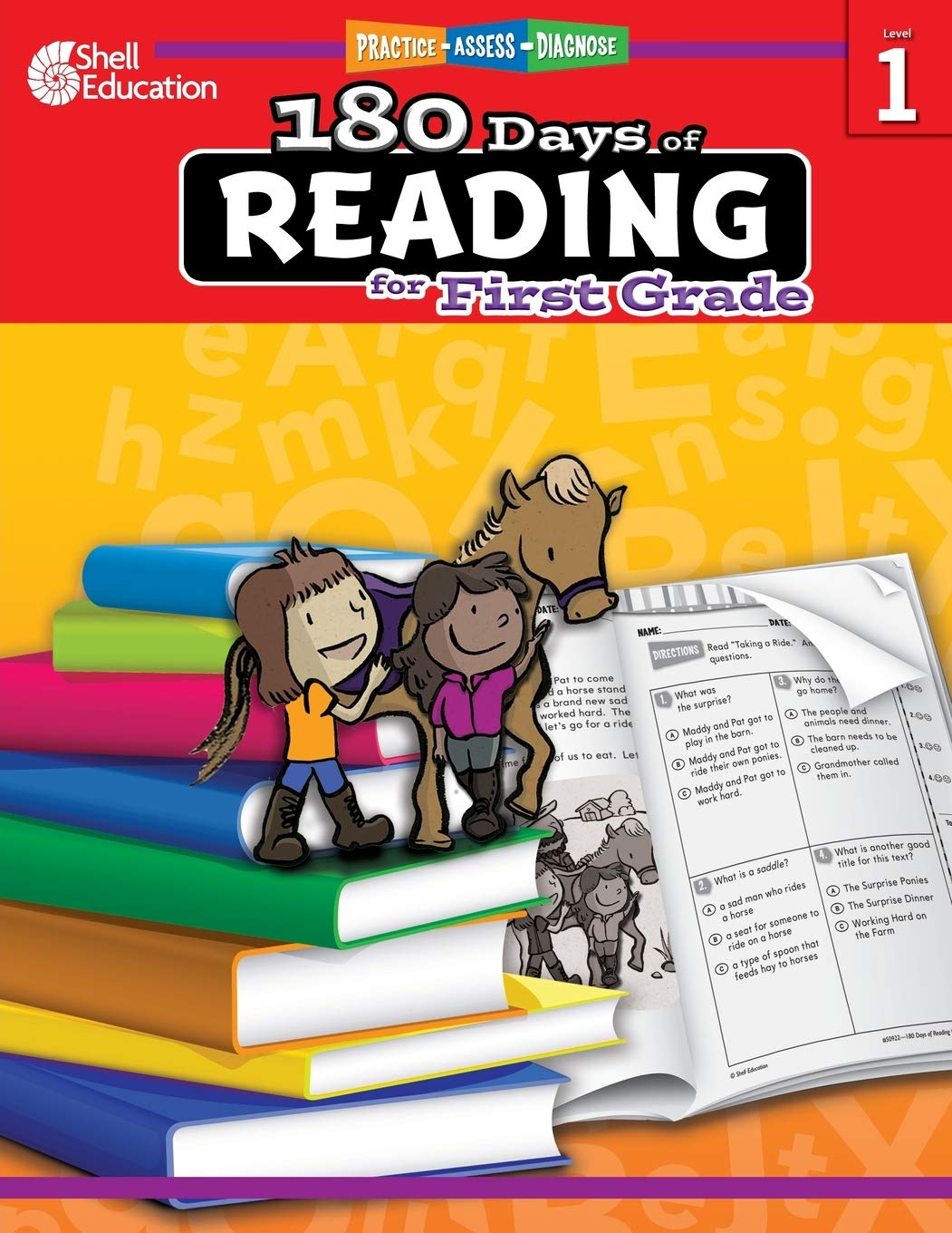 - Amazon.com: 180 Days Of Reading: Grade 1 - Daily Reading Workbook