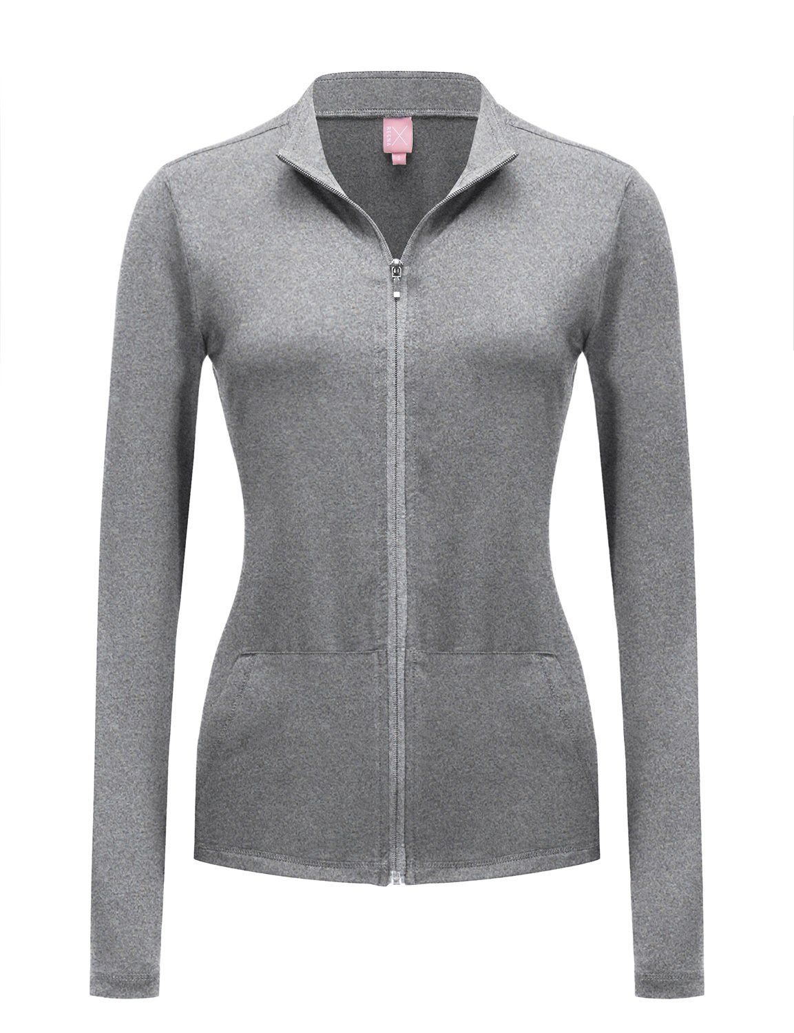 Regna X No Bother Women's Full Zip up Active Sports Jersey Strechy Track Jacket