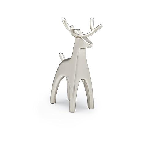 Amazon Umbra Anigram Ring Holder Reindeer Nickel Home