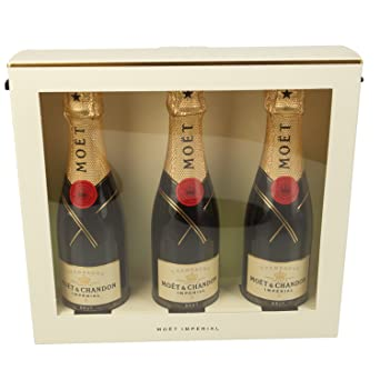 05432e6daf0 Moet   Chandon Brut Imperial Champagne Miniature Gift Set - 3 x 20cl ...