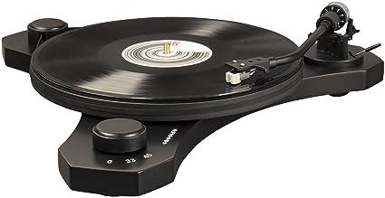 Crosley C3 - Tocadiscos de Dos velocidades, Color Negro: Amazon.es ...