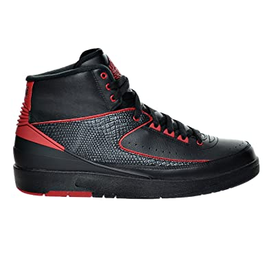 uk availability ed326 81bd9 Jordan Air 2 Retro Alternate 87 quot  Men s Shoes Black Varsity Red  834274-001