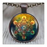 Amazon Price History for:Metatron's Cube Pendant, Sacred Geometry Jewelry, Metatrons Cube, Geometric Necklace, Jewelry for Men