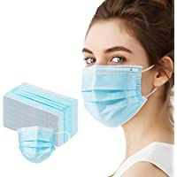 50-Pack Woruijia Protection 3 Ply Pollution Disposable Face Masks