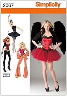 product image for Simplicity Sewing Pattern 2067: Misses' Costumes, Hh (6-8-10-12)