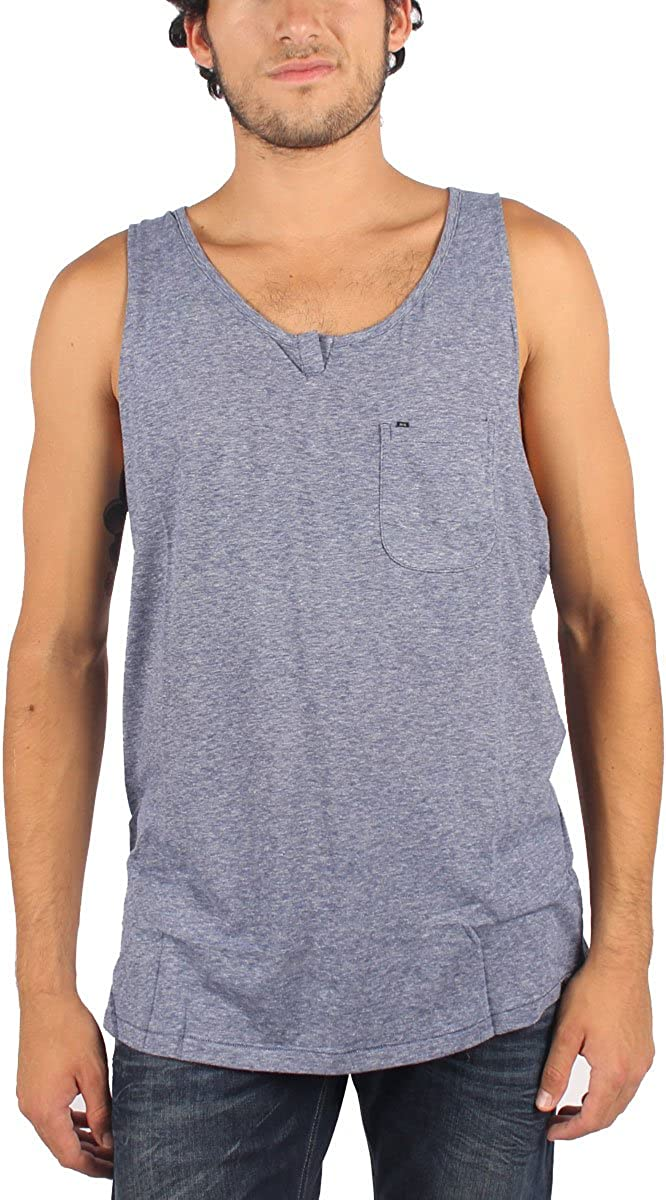KR3W - Mens Sudden Tank Top in Navy, Size: Small, Color: Navy: Clothing