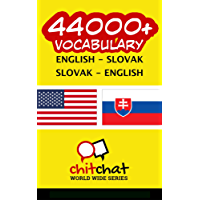44000+ English - Slovak Slovak - English Vocabulary